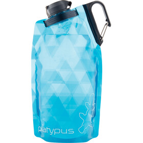 Platypus DuoLock Gourde souple 750ml, blue prisms